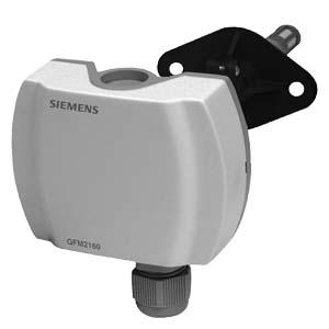 Siemens Qfm Duct Humidity Temperature Sensor
